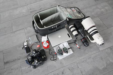Fotoequipment im Handgepäck
