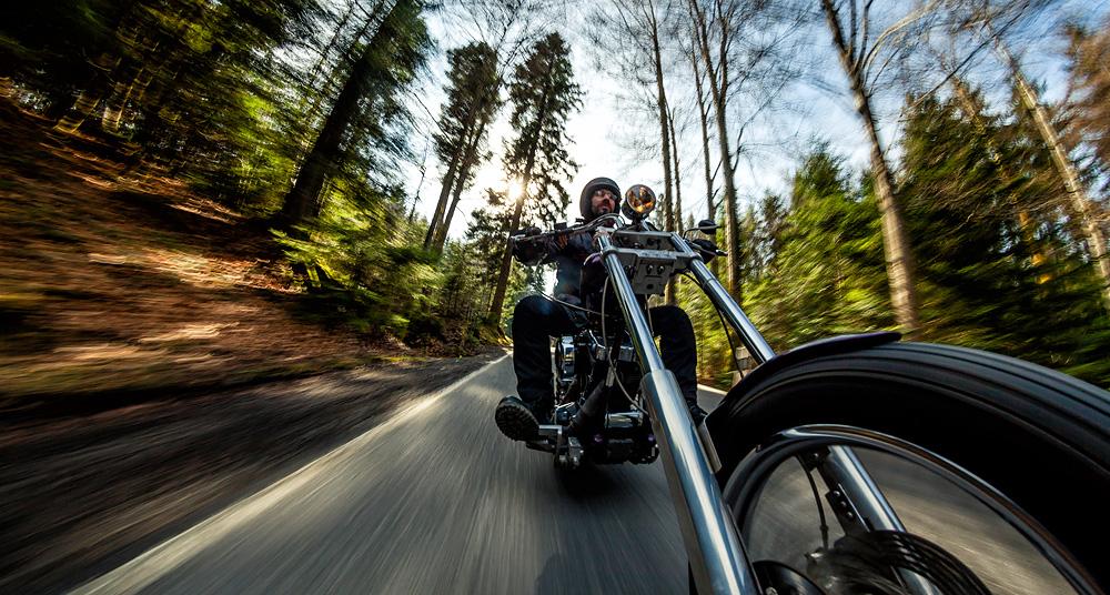 Die Motorradsaison hat begonnen
