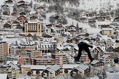 Weltcup Skispringen in Engelberg